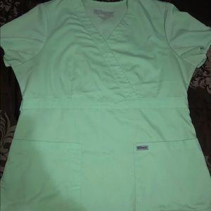 Very cute Grey's Anatomy scrub top. Large